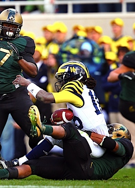Spartans bring Brady Hoke's Michigan honeymoon to an all-too-familiar end
