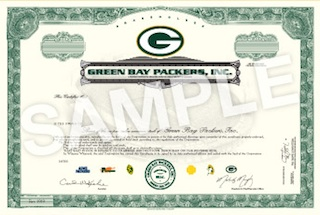 You can now buy shares of the Packers, but with strings attached