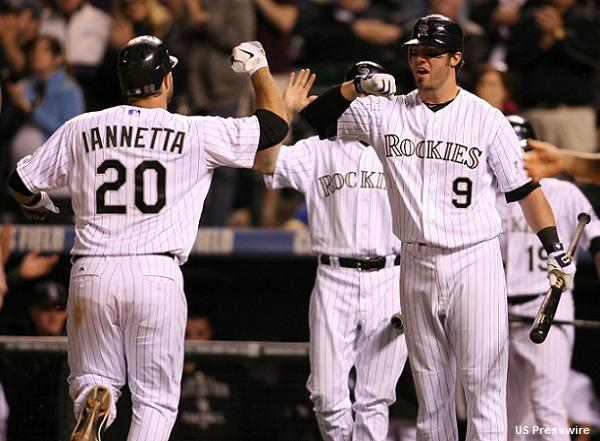 Forgetting Napoli: Angels acquire Iannetta from Rockies
