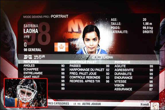 How a 14-year-old girl made NHL video game history