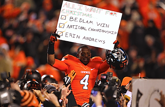 Cowboys rest their case: Oklahoma State makes its final BCS argument, in three parts