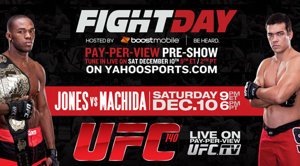 UFC 140: Yahoo! Sports and Heavy present Fight Day Live