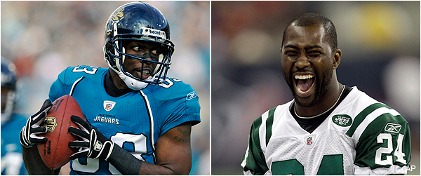 Jaguars receiver trash-talks Darrelle Revis, who responds with &#8216;What&#8217;s his name again?&#8217;