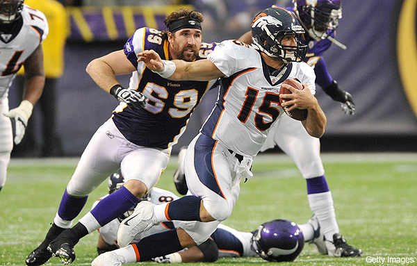 Jared Allen still making waves despite Vikings' dismal season