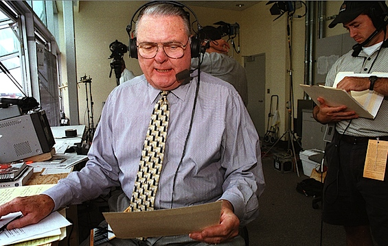 Whoa, Nellie: Keith Jackson mystified by longevity of trademark call