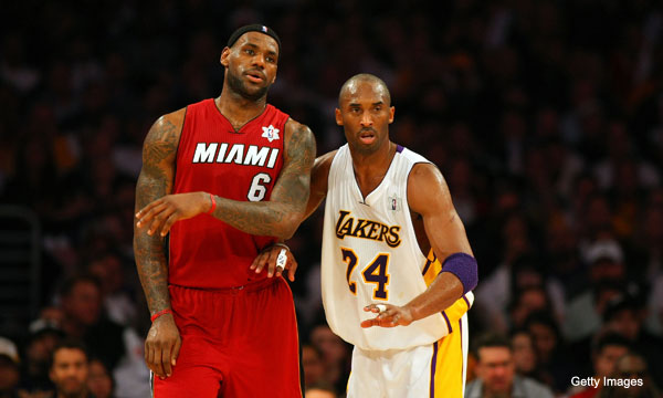 Kobe Bryant to LeBron James critics: 'Back off'
