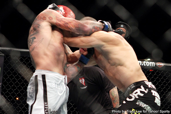 In just 27 seconds, Leben takes out Silva at UFC 132