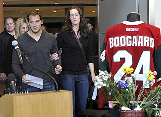 Derek Boogaard's brother Aaron arrested on drug charges