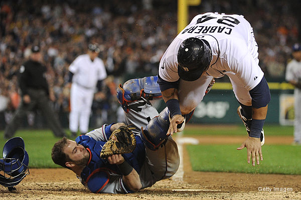 Cruz, Napoli team up for best defensive play of playoffs so far