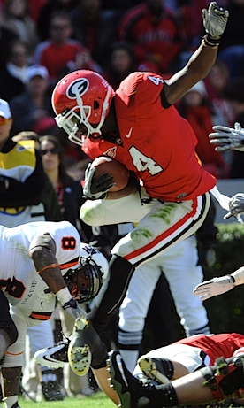 Caleb King is out at Georgia, and he's taking Isaiah Crowell's safety net with him