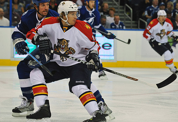 Panthers deal David Booth to Canucks; Tallon not crazy