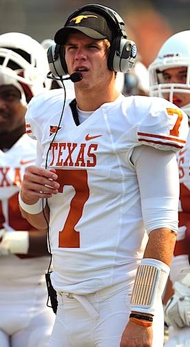Garrett Gilbert's latest turn at Texas may be his last