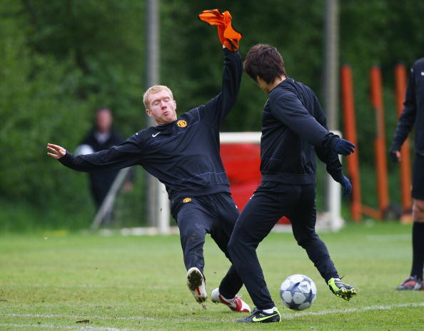 Scholes says he wasn't a bad tackler, just a fan of revenge