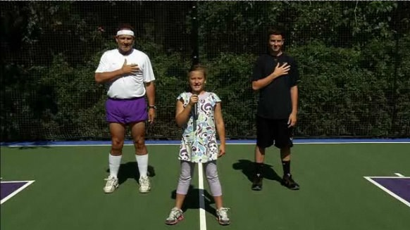 Video: Scott Van Pelt helps Les Miles embarrass his children on the court