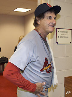 Classic: Tony La Russa's nonsensical squirrel quote