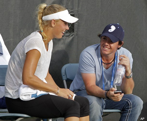 McIlroy flies to Cincinnati to see Wozniacki after finishing PGA