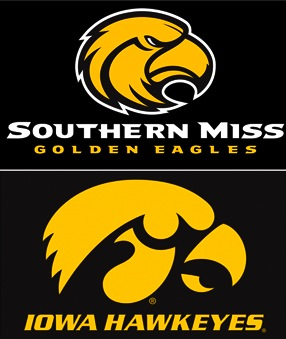Iowa's logo beats Southern Miss' head-to-head in federal court