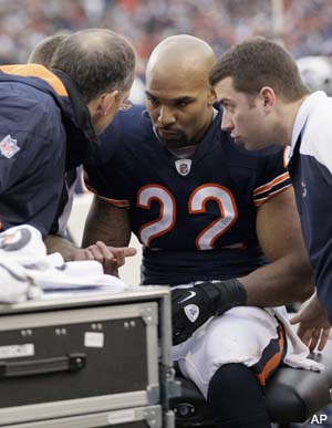 Matt Forte has sprained MCL as Bears playoff hopes grow dimmer