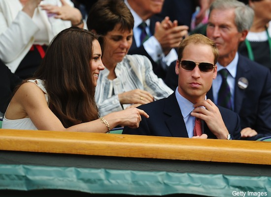 Pics: Prince William and the Duchess of Cambridge visit Wimbledon