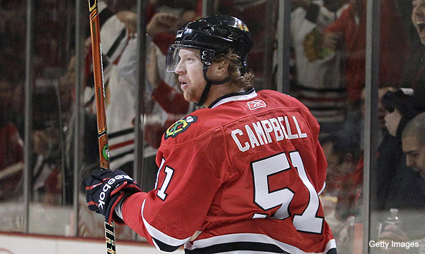 Florida GM: Brian Campbell gives Panthers credibility