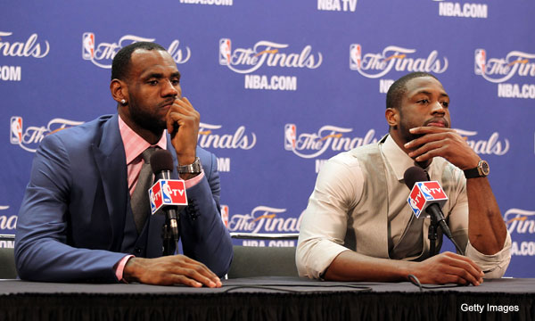 Dwyane Wade talks up his chemistry with LeBron James