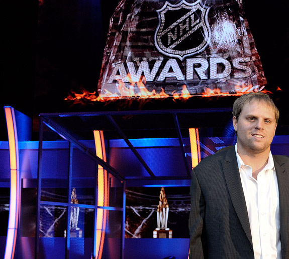 NHL Awards at the quarter mark of the 2011-12 season