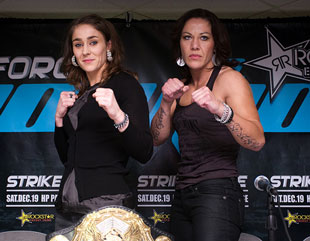 Dana White gives female fighting another shot