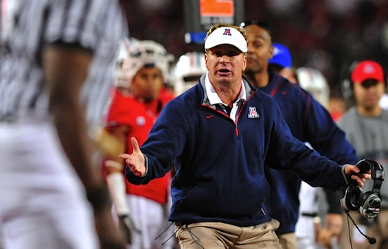 Mike Stoops spent 8 years dragging Arizona out of a hole, just so Arizona could throw him into one