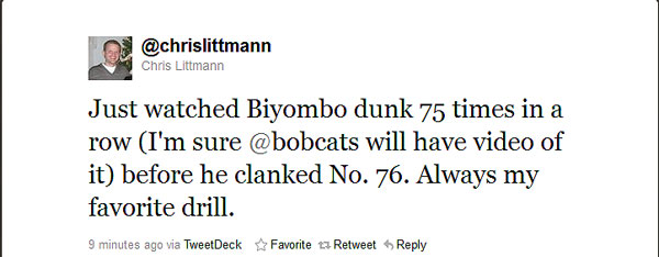 Bismack Biyombo is full of nicknames and intrigue and dunks