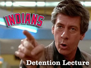 Detention Lecture: Your 2011 Cleveland Indians