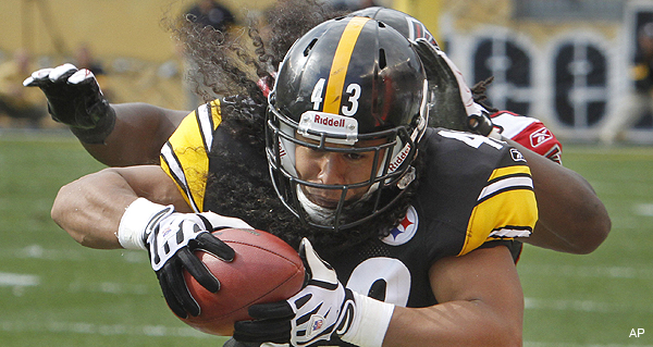 Troy Polamalu, Adrian Peterson agree to new mega-deals