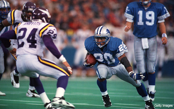 Barry Sanders reveling in success of new young Lions