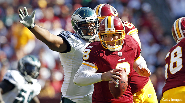 Rex Grossman throws four picks vs. Eagles, gets benched, still is who we thought he was