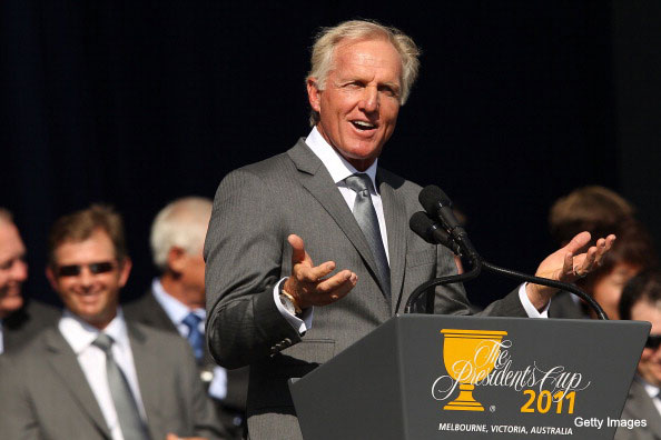 The Clown's Mouth: Greg Norman wants players' wives to 'take care of' their men
