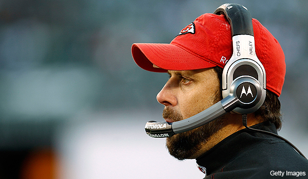 Chiefs announce that head coach Todd Haley has been 'relieved of his duties'