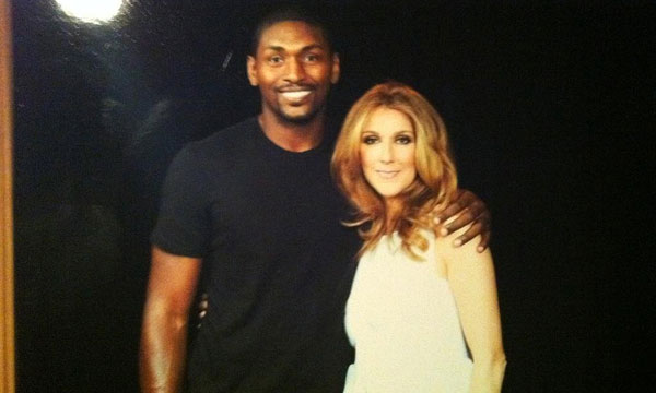 Video:  Ron Artest (Soon-To-Be-Known-As Metta World Peace) Loves Celine Dion