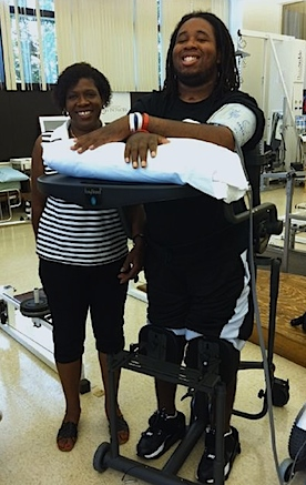 Eric LeGrand Update: Paralyzed Rutgers lineman stands on his own two feet