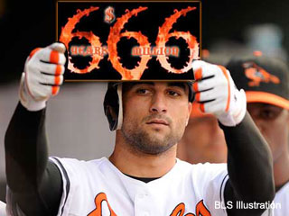 What in the devil is wrong with Nick Markakis?