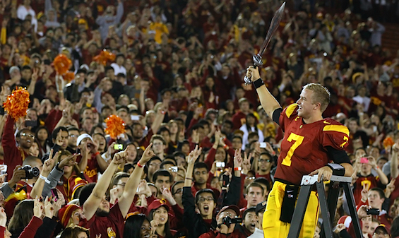 Merry Christmas, USC: You're getting one more year of Matt Barkley