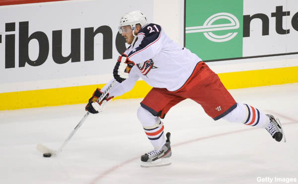 The Columbus powerplay could use a guy like James Wisniewski