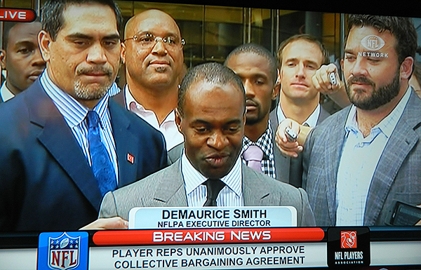 BREAKING NEWS: Players unanimously ratify new CBA; the lockout is over!