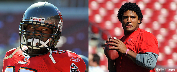 Josh Freeman sees Albert Haynesworth as a mentor. No, really.