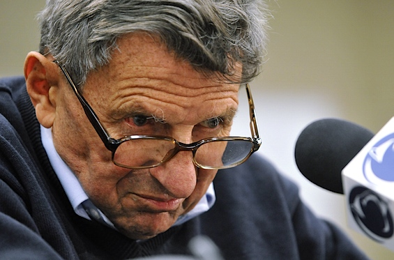 Paterno hospitalized after weekend practice collision, but insists he&#8217;s OK, folks