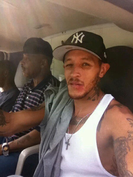 Delonte West is riding out the lockout, working from a furniture van