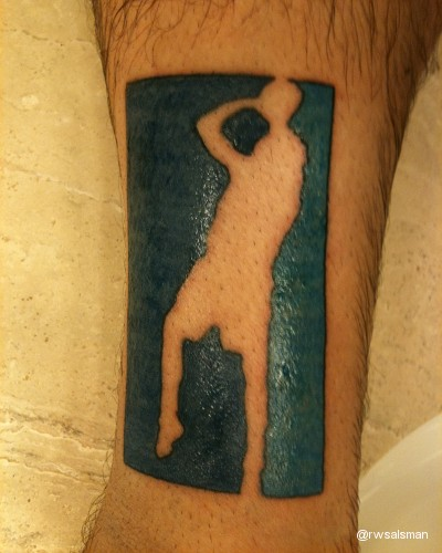 Dirk Nowitzki tattoo means Mavs fan will never again walk alone