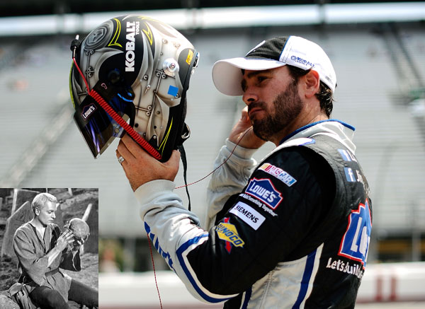 'Alas, poor Chad': Jimmie Johnson gets Shakespearean at Bristol