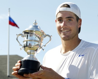 Isner missed brother?s wedding to play in Newport semifinals