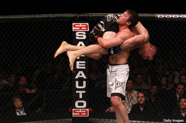 Sonnen crushes Stann, then vows to leave the UFC if he can't beat Silva in rematch