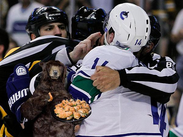 Gallery: Boston Bruins Bear Photoshop Contest Roars Ahead