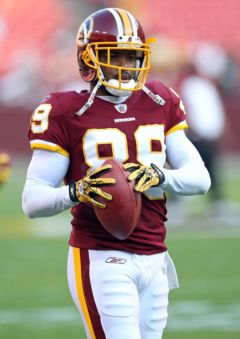 Two for the shopping list: Santana Moss, Montario Hardesty